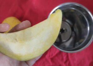 pumpkin mango icecream