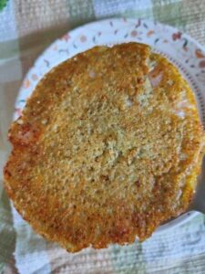 Uttapam Moong Khichdi dal and rice
