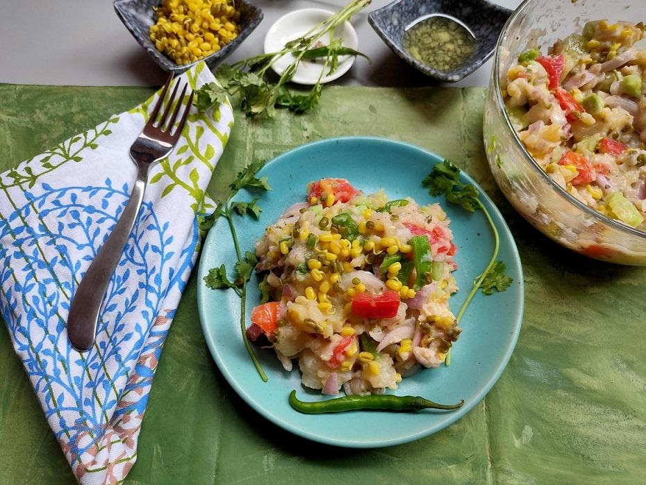 Mashed Potatoes Salad