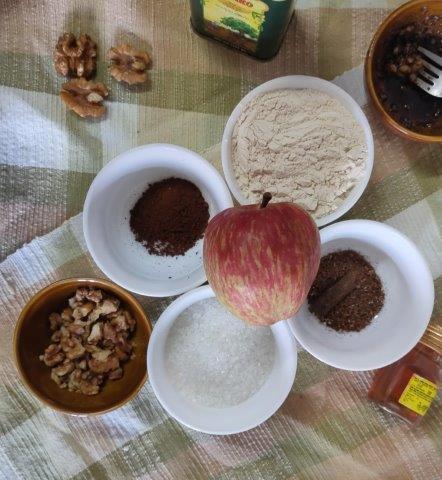 ingredients of apple cobbler