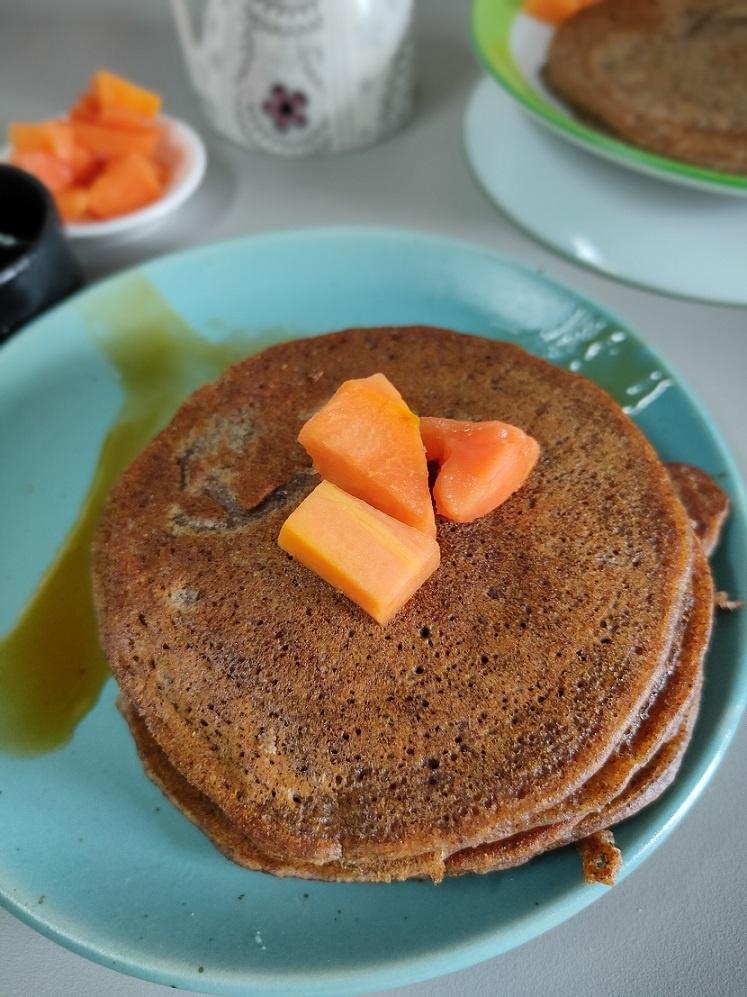 ragi pancake recipe pic2
