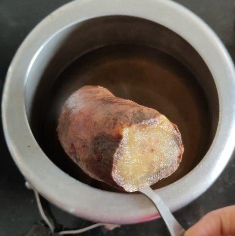 sweet potato pie eggless