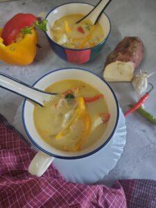 thai vegetarian soup
