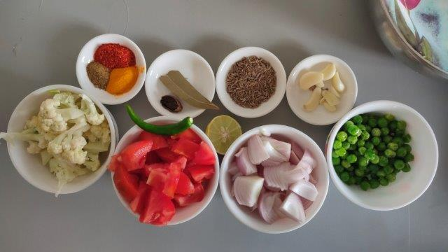 veg brown rice pulao healthy