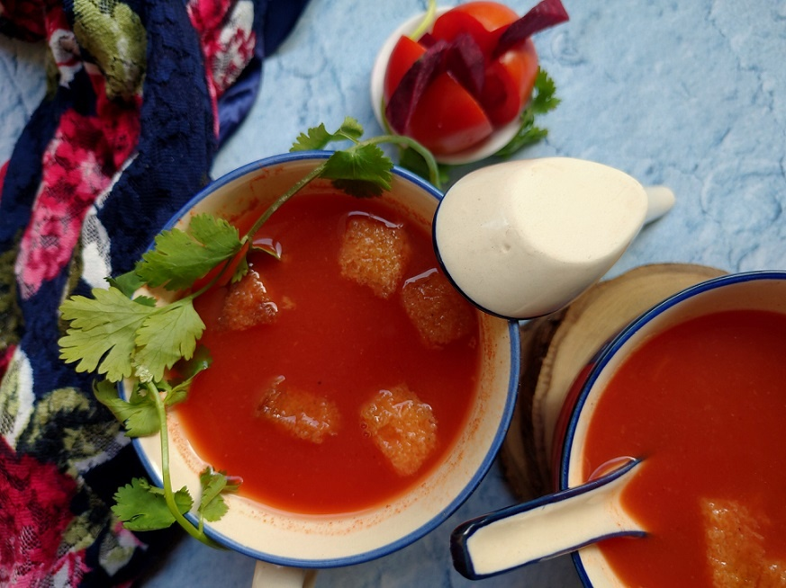 healthy tomato soup weight-loss and without cream