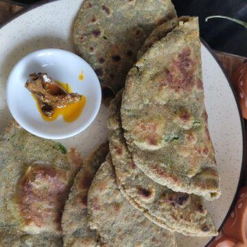 bathua paratha for weight-loss