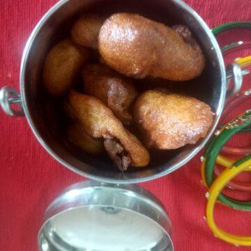 whole wheat gulgule recipe
