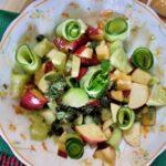 apple cucumber mint salad weight loss