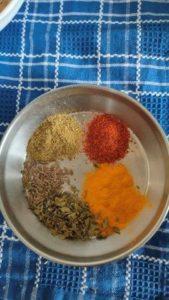 spices for mushroom masala