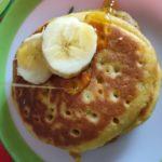 pumpkin eggless pancakes